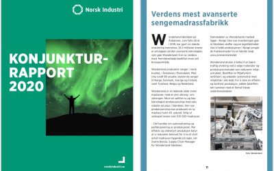 Konjukturrapport 2020 Norsk Industri